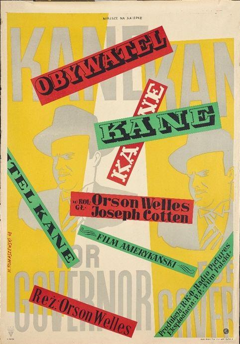 Henryk Tomaszewski per Citizen Kane