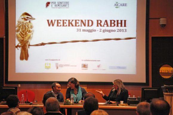 Gruppo del Cerchio con Rabhi al Festival 2013