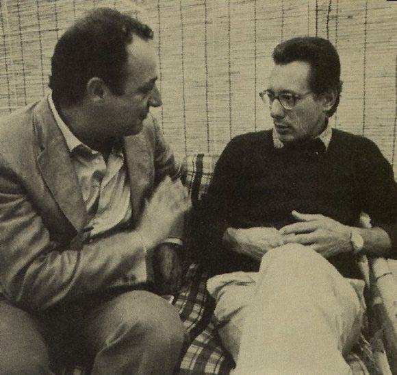 Beppe Viola con Enzo Jannacci