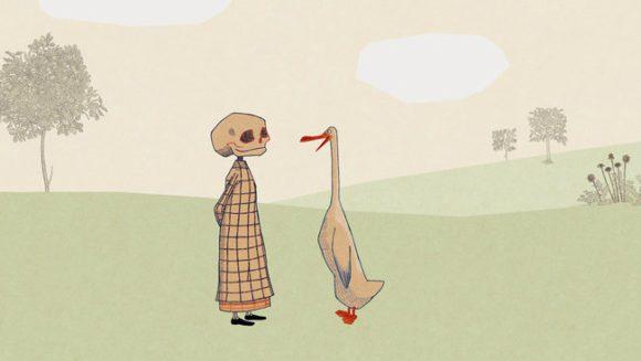 L'anatra, la morte, il tulipano, Wolf Erlbruch, E/O 2006