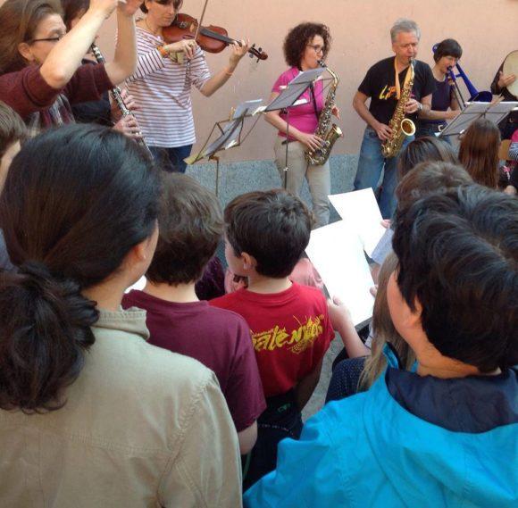 banda Erode Scuola Confalonieri 25 aprile 2015