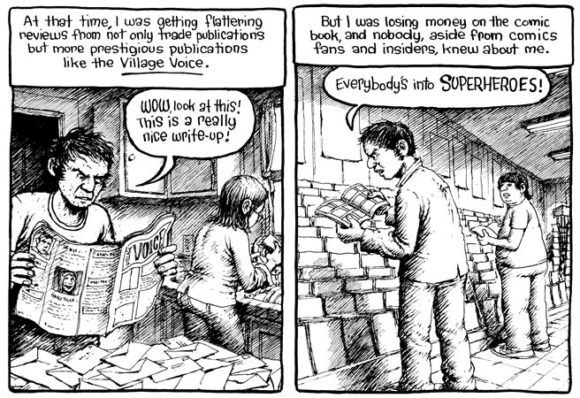 Harvey Pekar da http://www.luccacomicsandgames.com/it/2013/comics/translation-slam