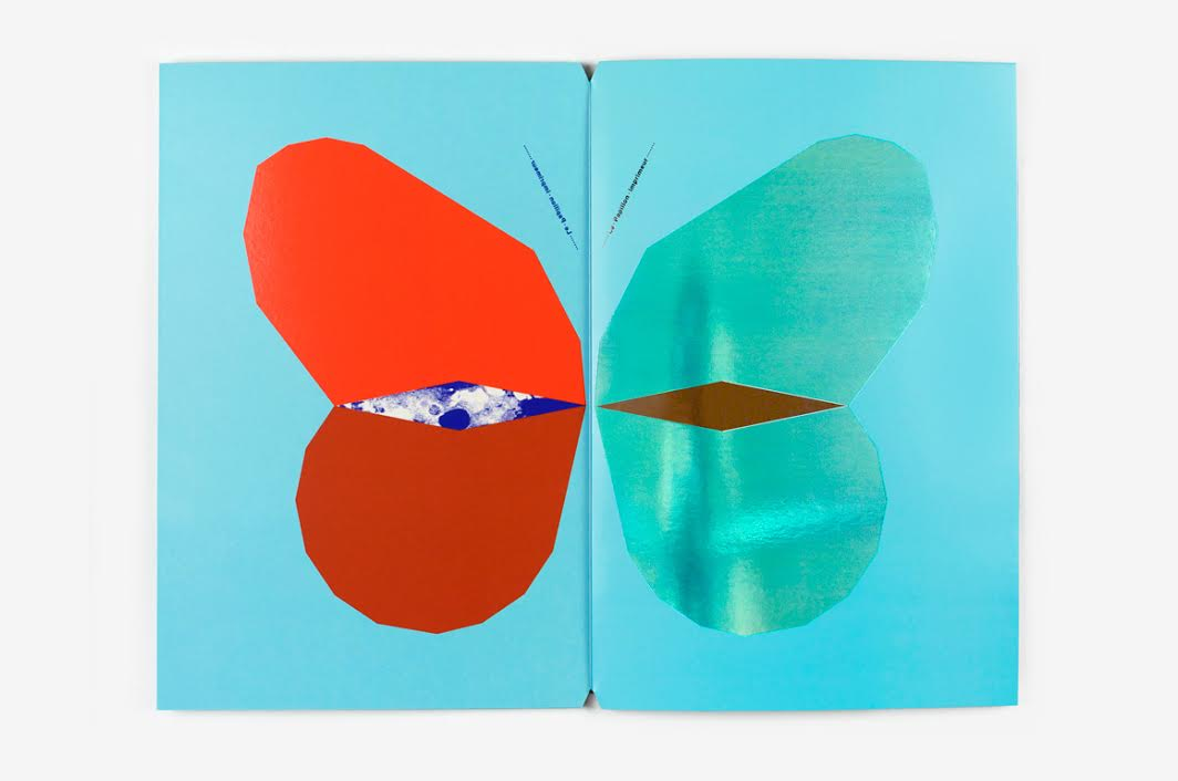 Fanette Mellier, La papillon imprimeur, Editions du livre, 2016